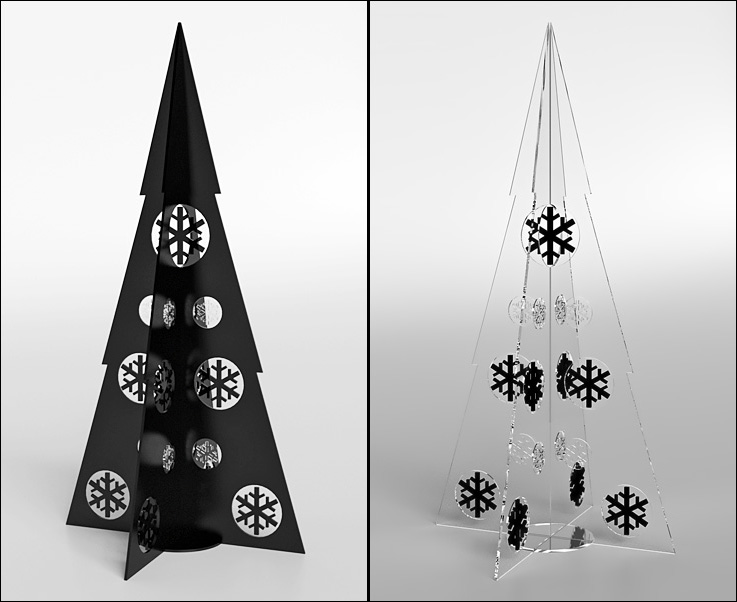 Contemporary Christmas Designs the modern christmas tree - news